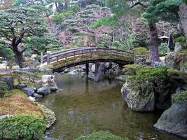Looks Abandonned Japanese Garden