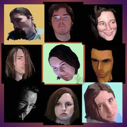 Nine Twilighters by avator
