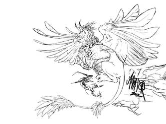 Wacom Gryphon Ink by avator