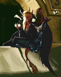 Jareth Gargoyle by avator