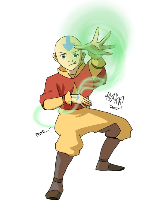 Aang airbending farts by avator on deviantart