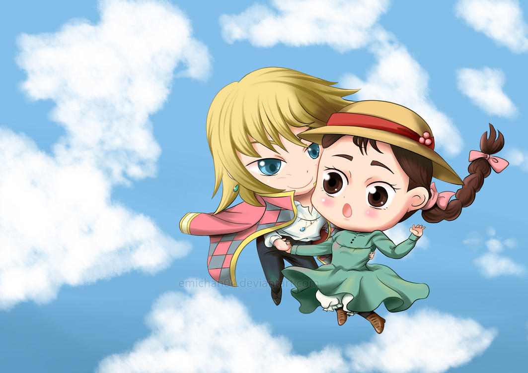 Howl and Sophie by poperart on DeviantArt