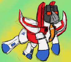 Starscream, Pony in Disguise!