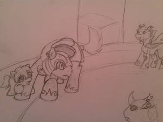 To Protect and Serve Sketch - EqD ATG Day 13