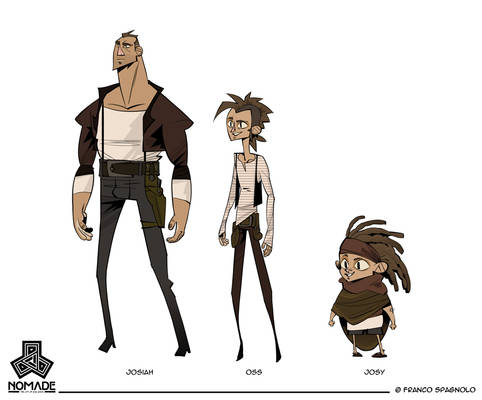 NOMADE - Character Design 01