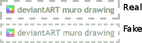 Real DA Muro vs Fake DA Muro by kargaroc586