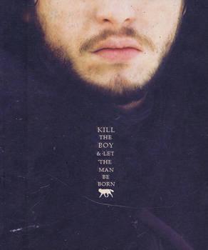 Jon Snow, no longer a boy