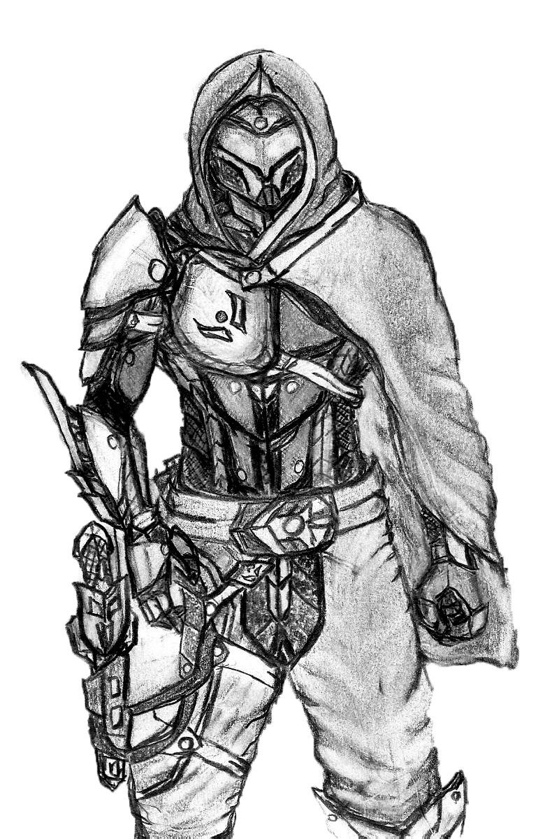 destiny hunter by l30816 on deviantart