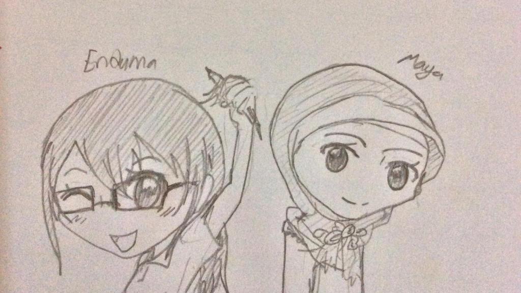 Random sketch by riyayah