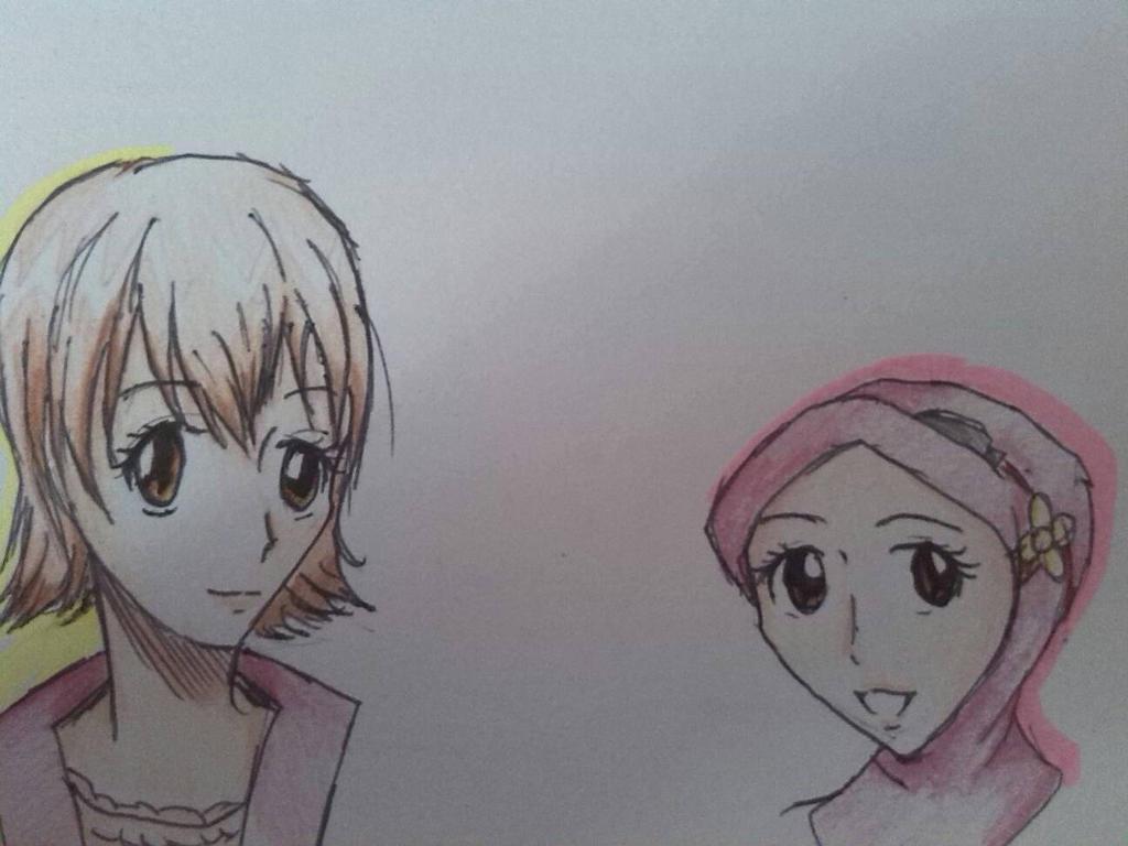Kyoko!KHR and Yaya!BBB by riyayah