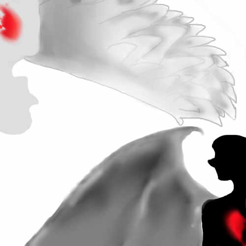 Angel and Demon broken hearted by riyayah