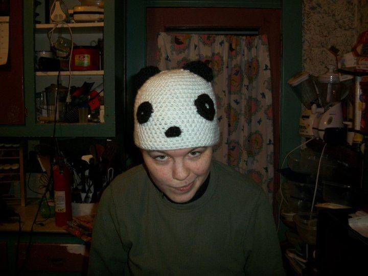 Panda Hat by xXpandaphileXx