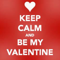 Keep Calm, Valentine by bystrawbrry