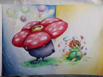 Vileplume or Bellossom? by JamesTheUnworthy