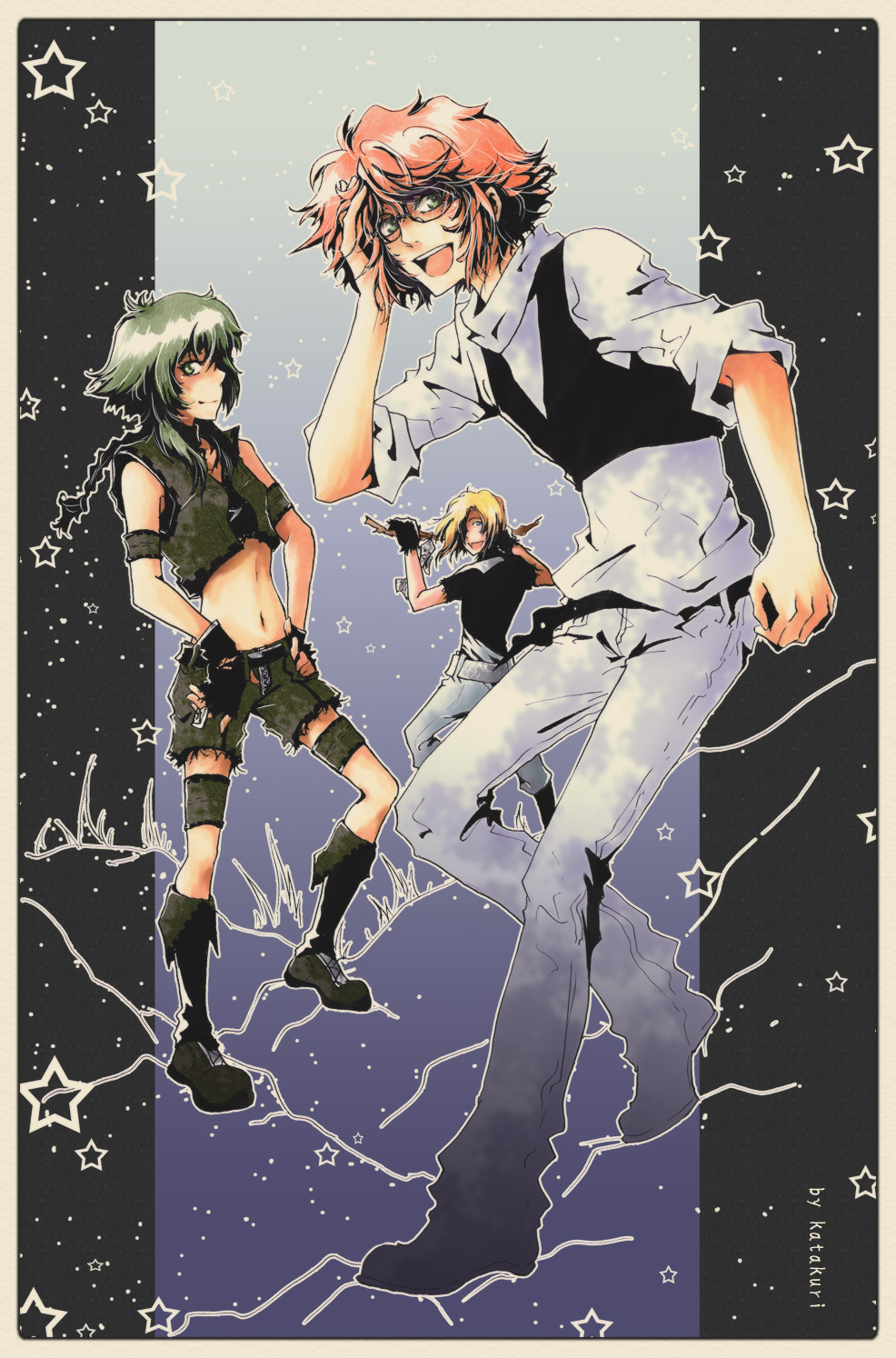 trioW by dei4eg-uke-chan