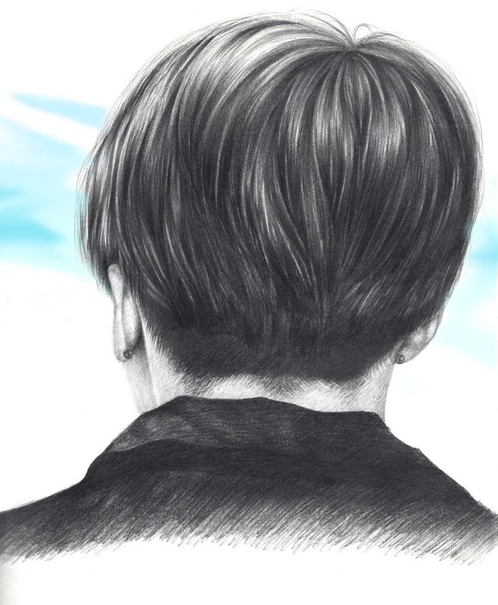 JK's back head by BrokenViolet