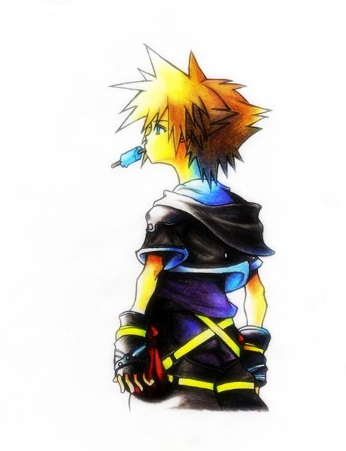 Sora Kingdom Hearts II By SS3Luigi