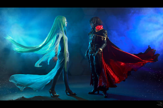 Captain Harlock and Miime 2
