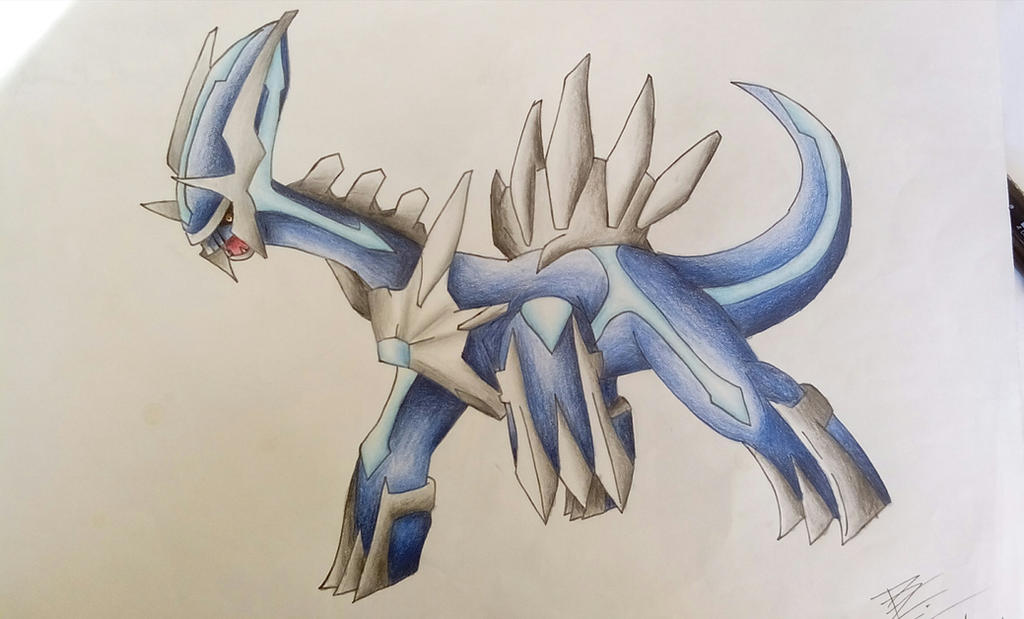 Pokemon Dialga By Pandaroszeogon On DeviantArt
