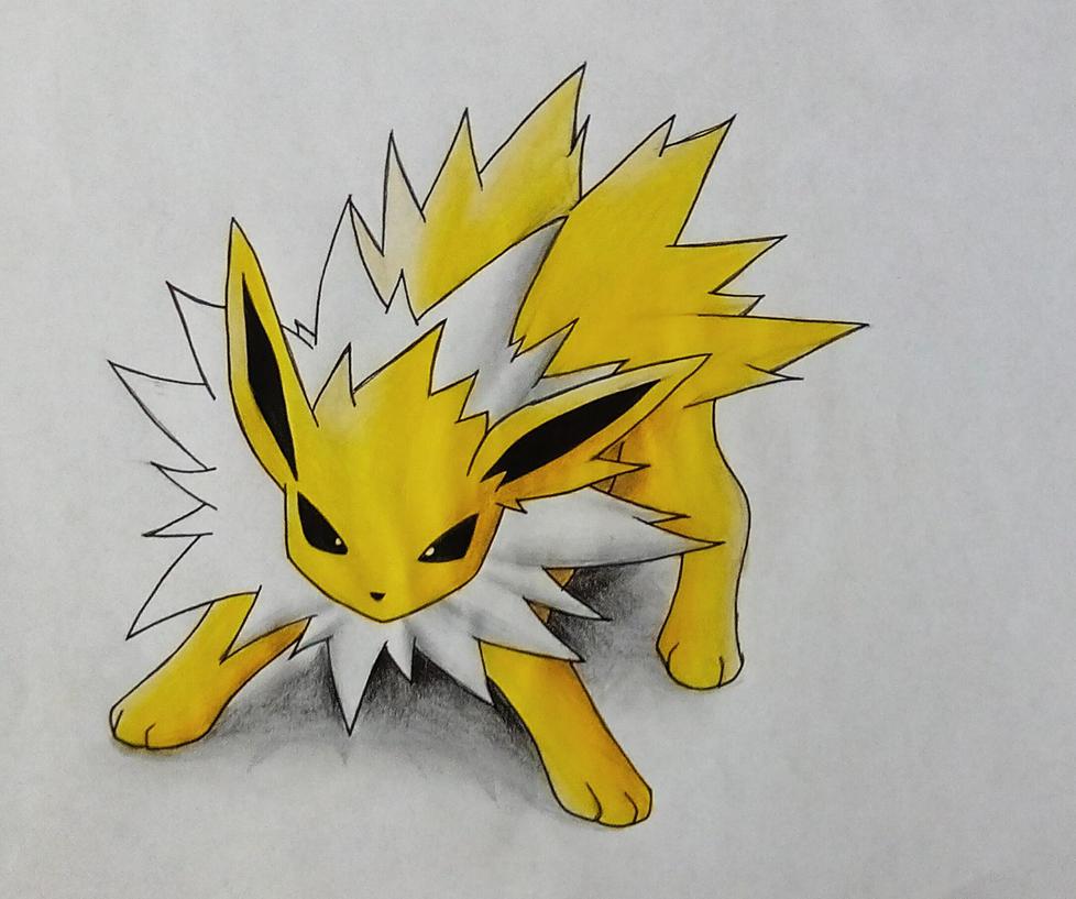 Blitza/Jolteon - Pokemon by Pandaroszeogon on DeviantArt