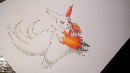 Zangoose/Sengo - Pokemon by Pandaroszeogon