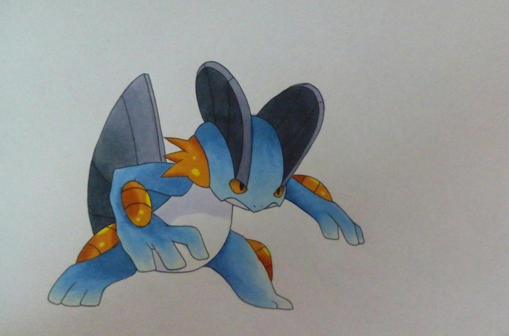 Sumpex Swampert Pokemon By Pandaroszeogon On Deviantart