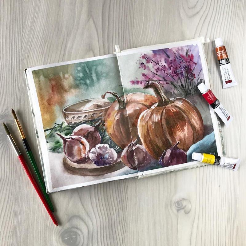 The Fall by oksana-k-art