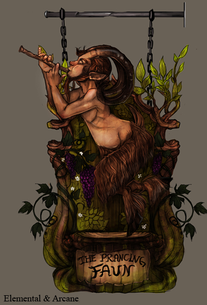 The Prancing Faun by Ailovc
