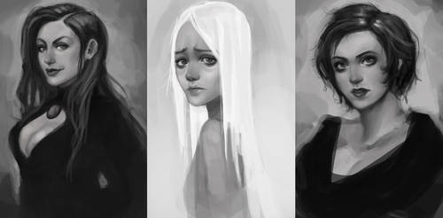 Portraits by Ailovc