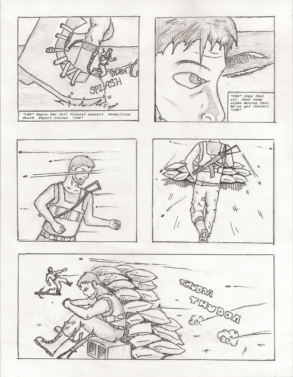 The Battle of Londo Page 1 by Infamy1984