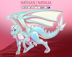 COMMISSION: Nathan/Natalia