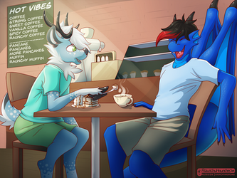 Com: Out to the Cafe With Perk