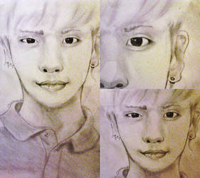 SHINee Jonghyun drawing