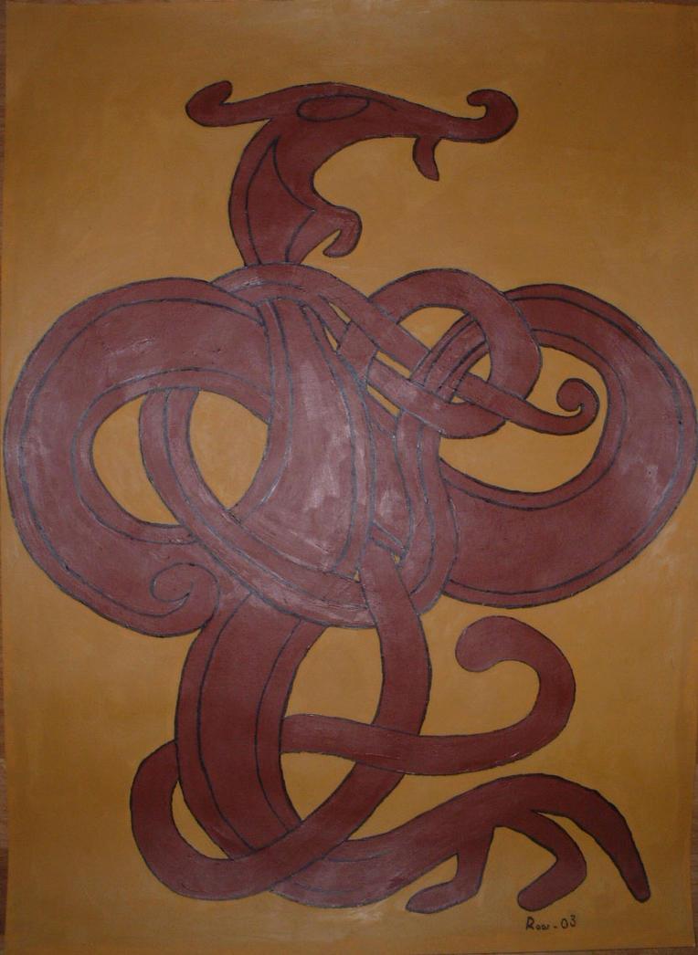 Painting - Nidhoggr Ornament01 by Nidhoggr