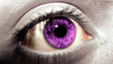 Stare of a demonic eye by jordansimpson93
