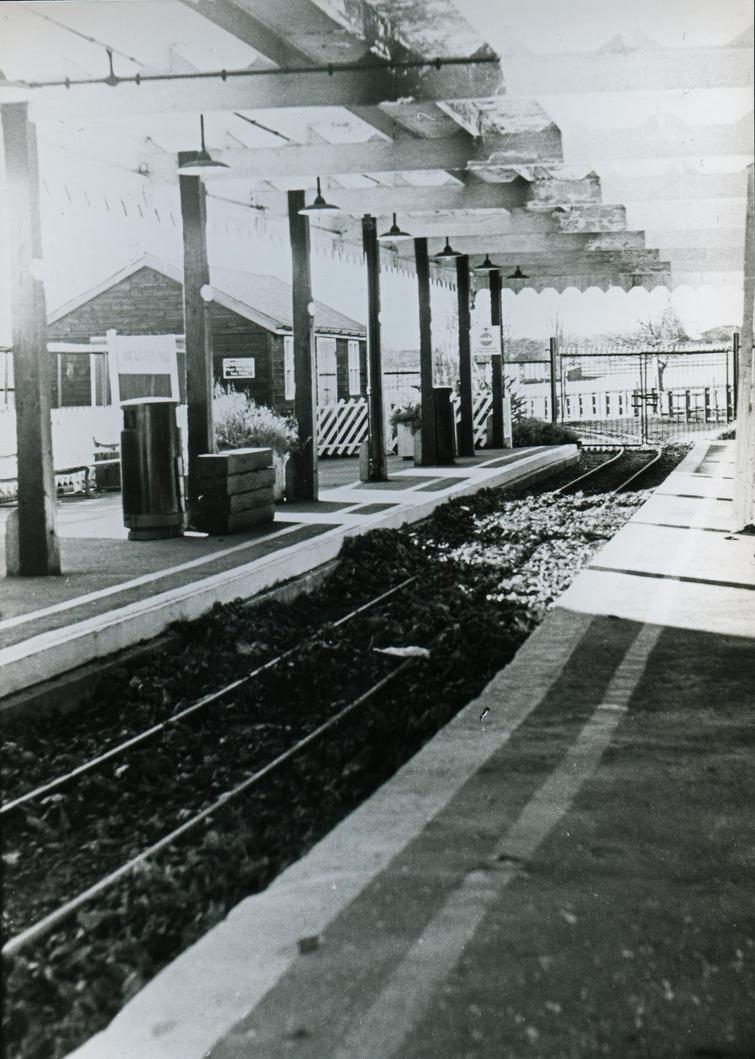 Vintage train station 35mm film by jordansimpson93