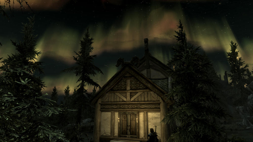 Lakeview manor by tae rai on deviantart for Skyrim fish hatchery