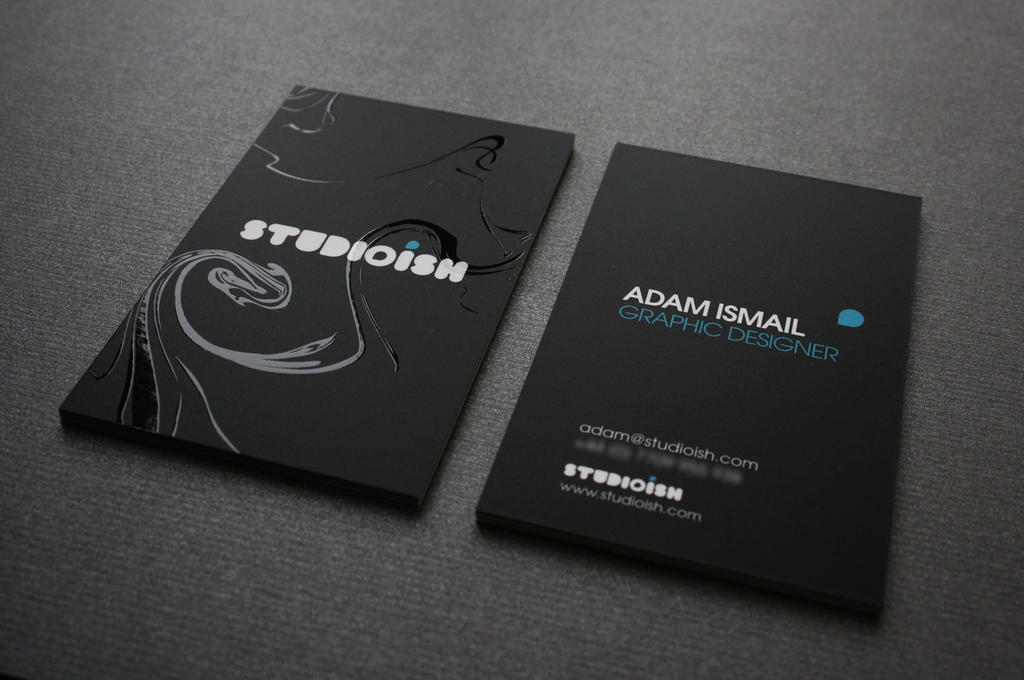 Studioish business cards by studioish on deviantart studioish business cards by studioish colourmoves