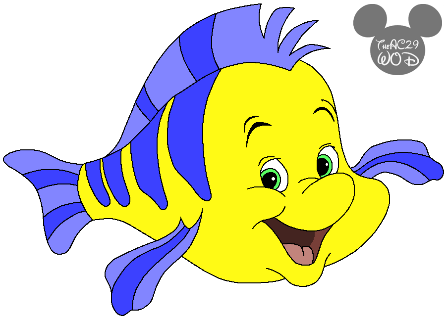 flounder disneys the little mermaid by raptoruosknight
