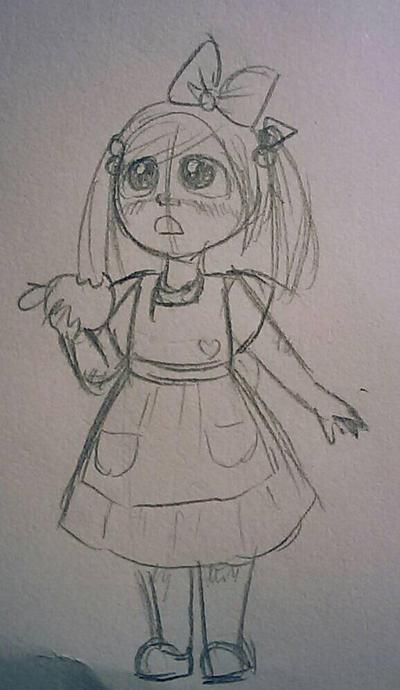 Sketch=Apples by FabulousChibitalia