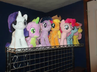 My Little Pony: Background is Magic by greendwarf333 on