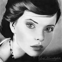 Karo-lina | Pencil Portrait by Lost-Moonlight