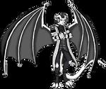 POTC: Salazar Gargoyle by Crystal-Rosewing