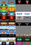 Every Pixar movie in the style of UNITINU