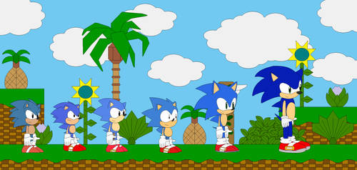 Sonic the Hedgehog: Into the Sonicverse by EricSonic18