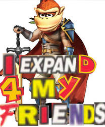 I expand for my friends.