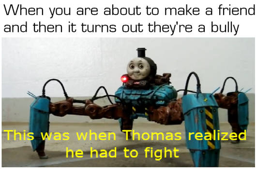 This was when Thomas realized he had to fight. by EricSonic18
