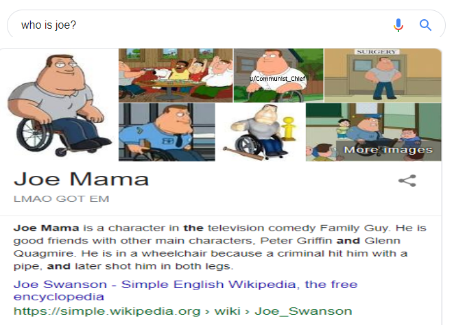 Joe Mama By Ericsonic18 On Deviantart Recently, joe mama memes have been going viral online with people sharing instances in which they fooled someone with a joe mama joke or were almost fooled themselves. joe mama by ericsonic18 on deviantart