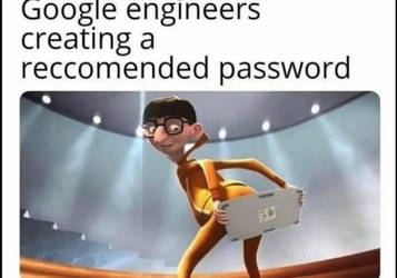 Reccomended passwords