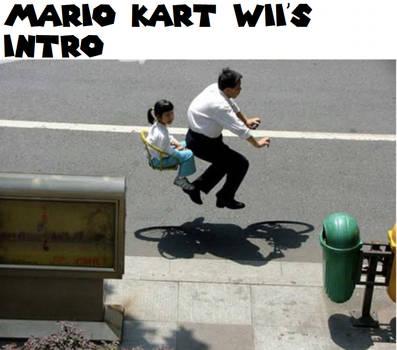 Mario Kart Wii's intro